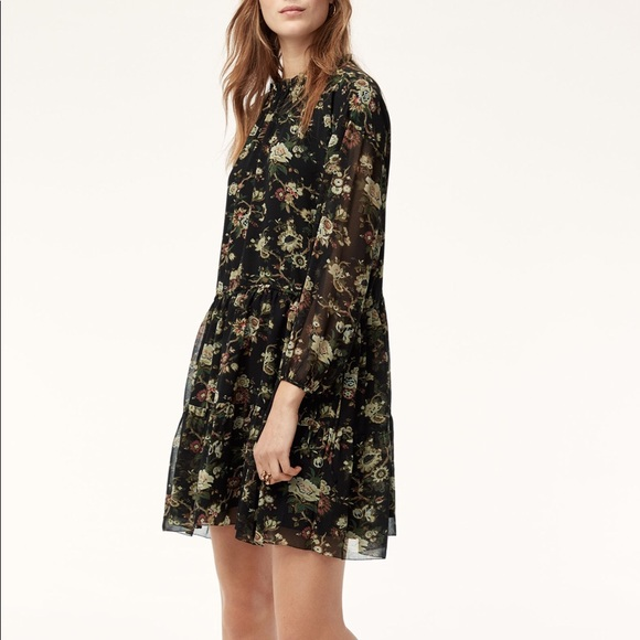 Wilfred Dresses & Skirts - Wilfred Lamare Dress Floral Boho Small
